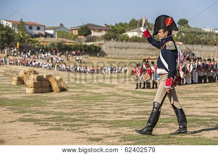 General Of The French Army On The Battlefield In Representation Of The Battle Of Bailen, Bailén  Jaé