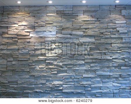 White and Grey Stone Wall