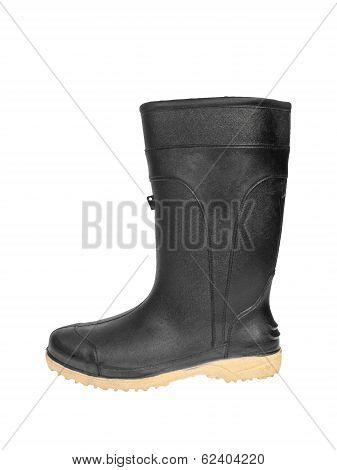 Rubber Boot Black Color