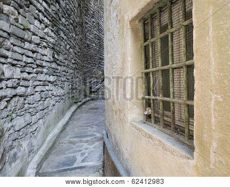 Narrow backstreet