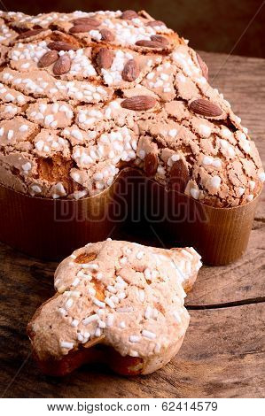 Colomba traditional Italian Easter dessert