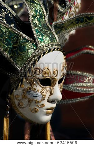 Venetian Note Mask