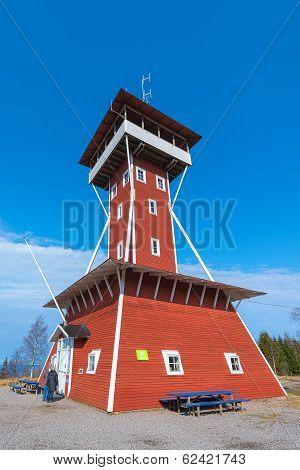 Kinnekulle Observation Tower A Landmark In The Area