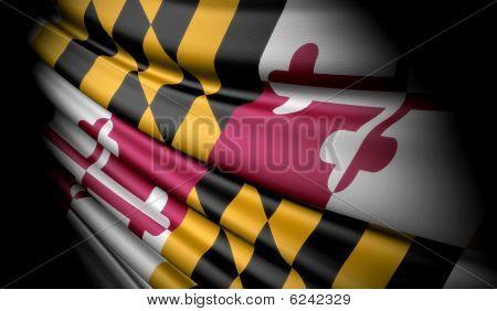 Flag Of Maryland (usa)