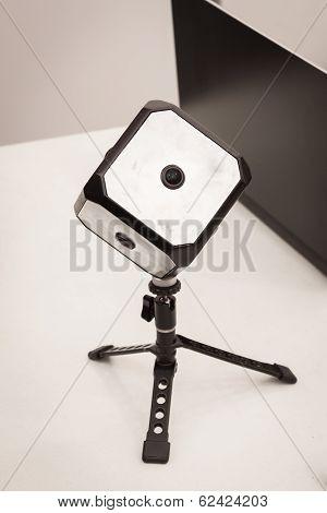 Beyonder 360 Camera At Robot And Makers Show