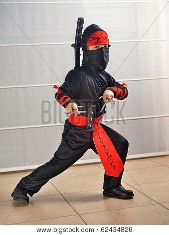 Purim (halloween): Ninja Boy