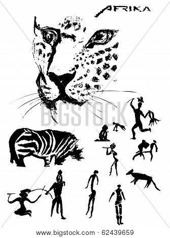 Animals painting