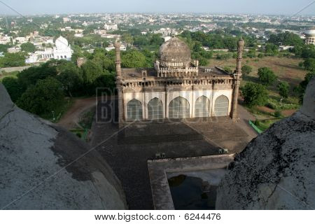 Aerial View Of Masjid