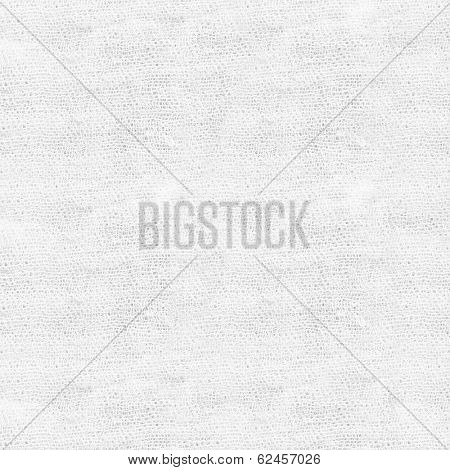 High resolution white and light gray texture of gauze background with sparse threads and clear space for your own text