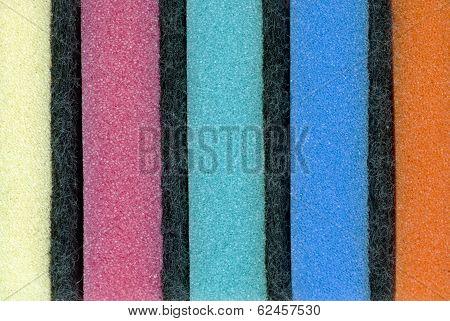 Multi Coloured Kitchen Sponges