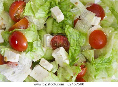 Background Of Fetta Salad
