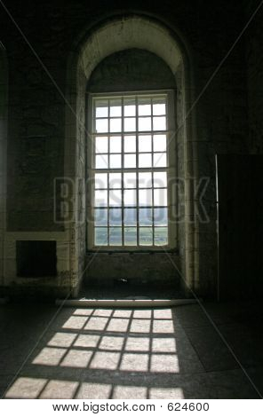 Sunshine Through Arched Windows In Stirling Castle Scotland
