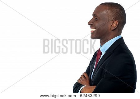 Handsome Young African Businessman