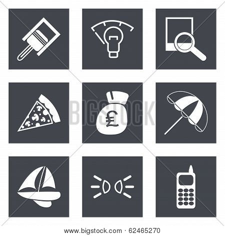 Icons for Web Design set 37