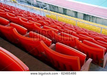 Seat grandstand.