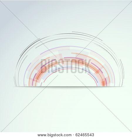 Circular Concentric Design Element