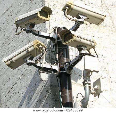 Camera For Video Surveillance And Control Of City Traffic