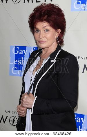 WEST HOLLYWOOD - MAR 15: Sharon Osbourne at An Evening with Women kick-off concert presented by the L.A. Gay & Lesbian Center at The Roxy Theater on March 15, 2014 in West Hollywood, CA