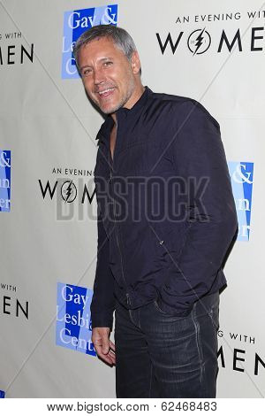 WEST HOLLYWOOD - MAR 15: Max Ryan at An Evening with Women kick-off concert presented by the L.A. Gay & Lesbian Center at The Roxy Theater on March 15, 2014 in West Hollywood, CA