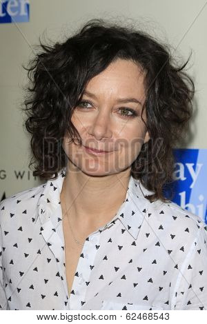 WEST HOLLYWOOD - MAR 15: Sara Gilbert at An Evening with Women kick-off concert presented by the L.A. Gay & Lesbian Center at The Roxy Theater on March 15, 2014 in West Hollywood, CA