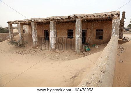 Abandoned Village In Qatar