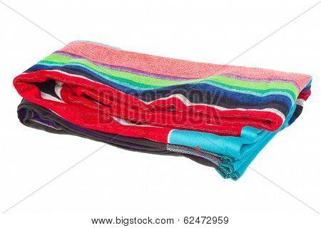 folded beach towel