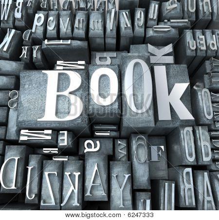 Typoskript Buchblock