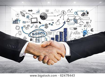 Business Handshake Strategic Planning