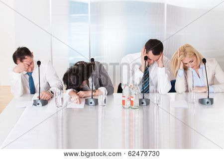 Business People In Conference