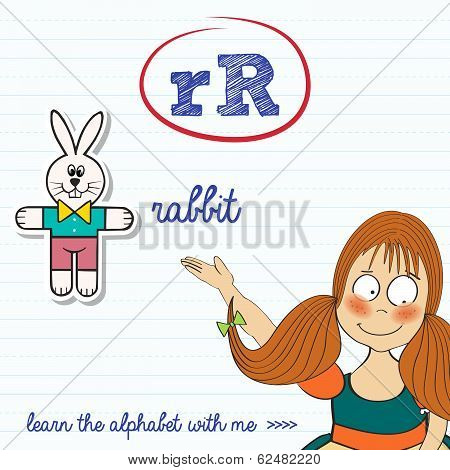 Alphabet Worksheet Of The Letter R