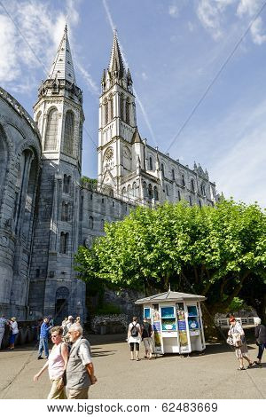 The Basilica Of Lourdes