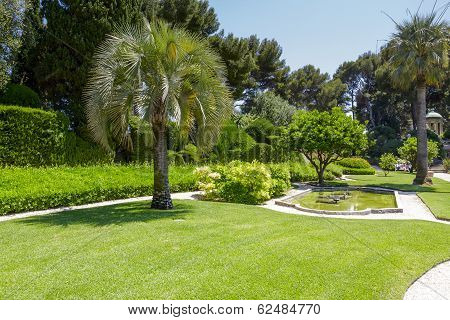 Greenery Of Villa Ephrussi De Rothschild
