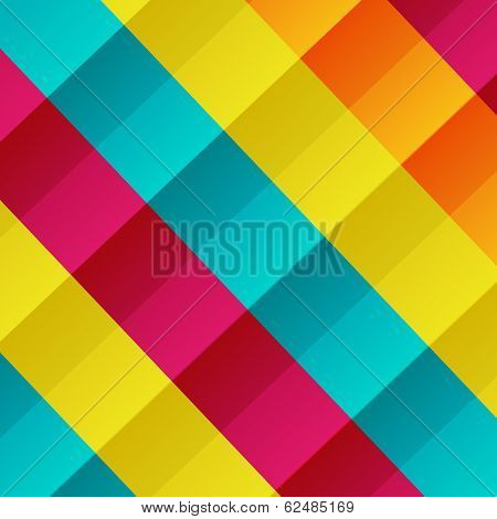 colorful checkered background