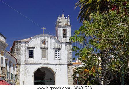 The Church Igreja De Sao Paulo In Tavira, Algarve, Portugal