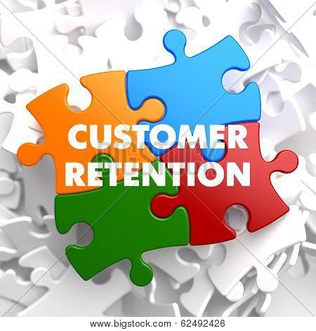 Customer Retention on Multicolor Puzzle.