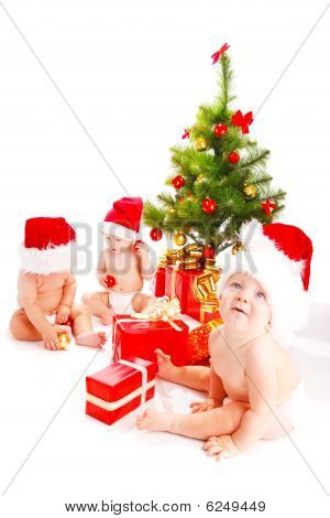 Bebés de Santa