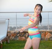 picture of lap dancing  - Fun by the pool  - JPG