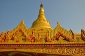 picture of buddhist  - Global vipassana pagoda in Mumbai - JPG