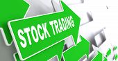 stock photo of debenture  - Stock Trading Concept - JPG