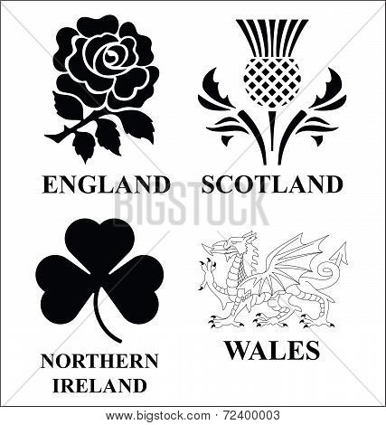 United Kingdom emblems