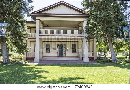 Historic Isaac Chase Home in Salt Lake City Utah