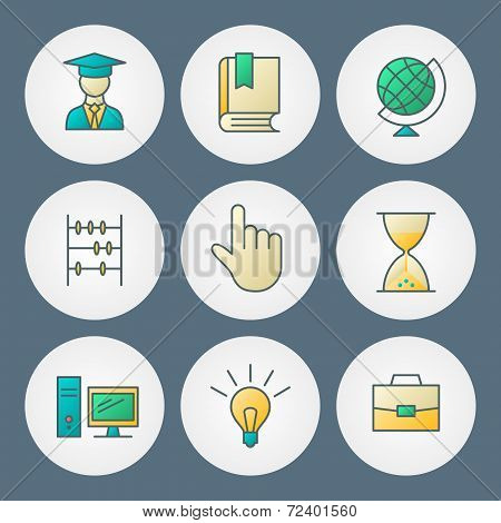 Vector Icons Set. For Web Site Design And Mobile