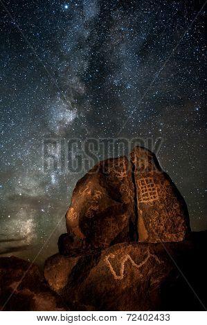 Galactic Petroglyphs