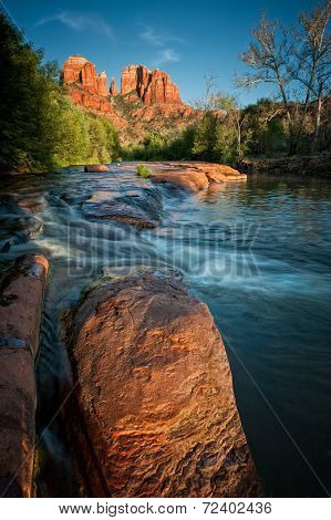Oak Creek And Red Rocks