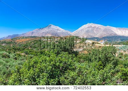 Typical Cretan Landscape