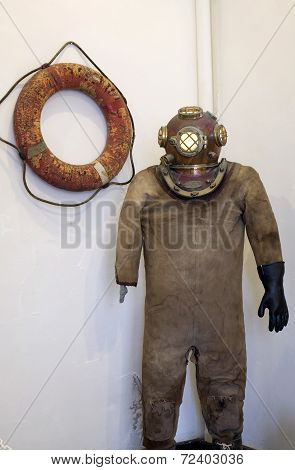 Old Scuba Suit
