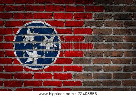 Dark Brick Wall - Tennessee