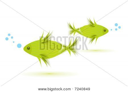 Vektor-Fisch