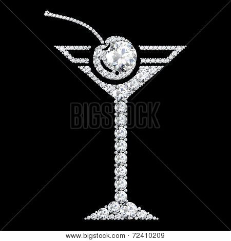 Drink Icon .on Black Background With High Quality.