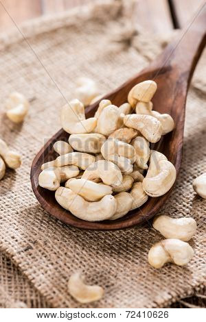 Portion Of Cashew Nuts